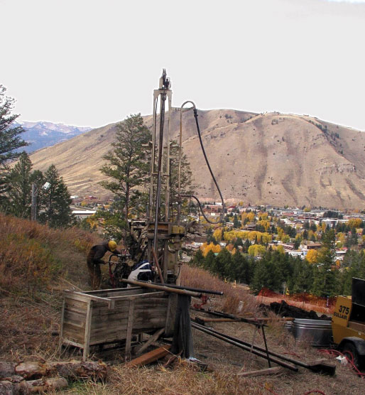 Snow King Slope Stability Analysis - Jackson, Wyoming