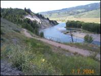 Henry's Road Pathway (during and after construction) - Teton County, Wyoming