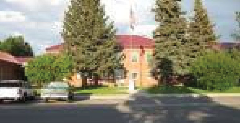 Sublette County Court House - Pinedale, Wyoming