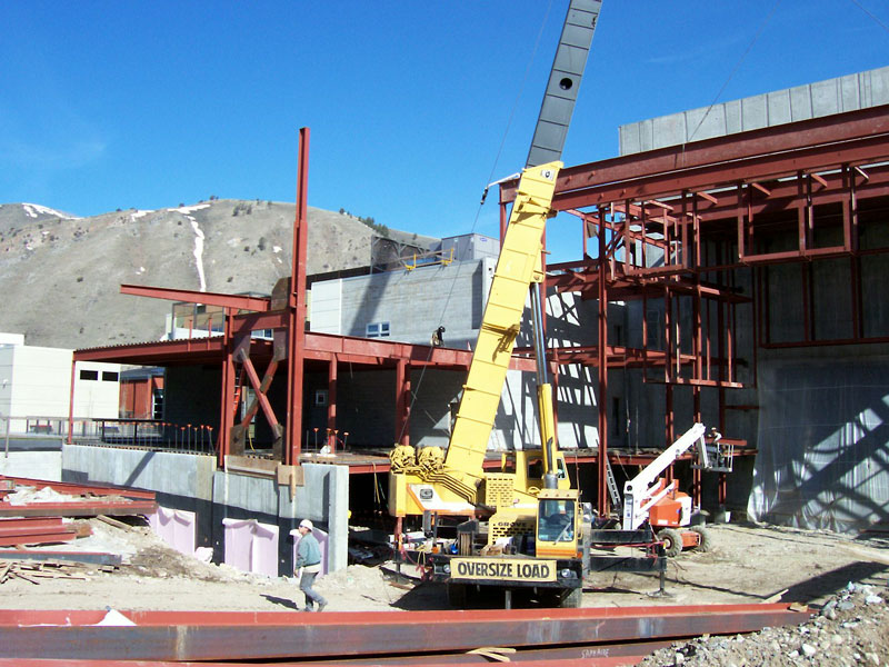 Structural Steel, Center for the Arts, Jackson, Wyoming
