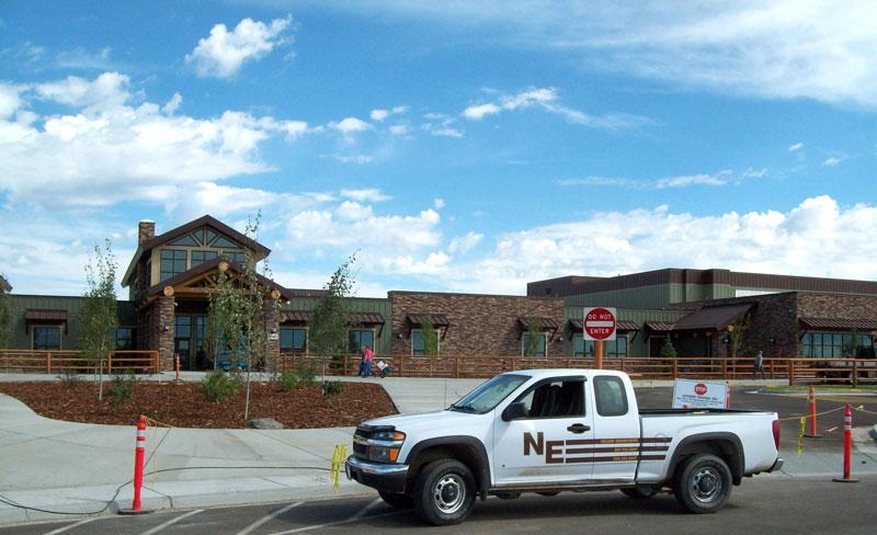 Masonry, Concrete, Steel, School, Pinedale, Wyoming