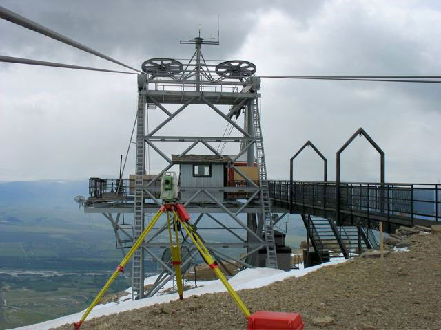 Aerial Tram Survey, Teton Village, Wyoming