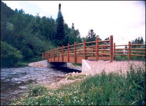 Russ Garaman Pathway Bridge - Teton County, Wyoming