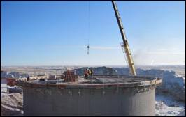 Wyoming Water Development Grant Project - Granger, Wyoming