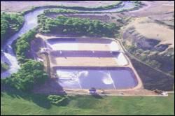 Wastewater Treatment Lagoon - Dubois, Wyoming
