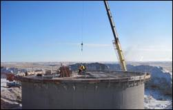 Water Storage Tank - Granger, Wyoming