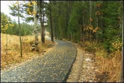 Public Pathway - Wilson, Wyoming