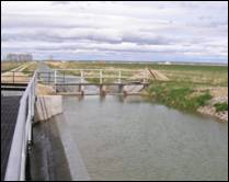 Diversion Structure, Eden Canal - Sublette County, Wyoming