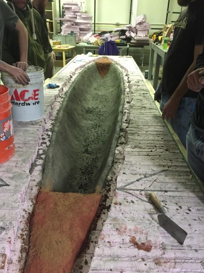 2016 Concrete Canoe Photo 3